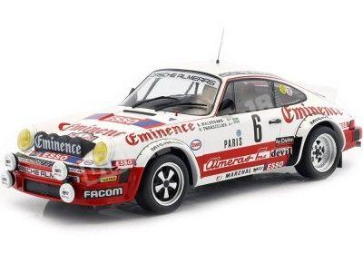 1982 Porsche 911 SC Rallye Monte Carlo 1:18 IXO Models 18RMC008 Cochesdemetal.es