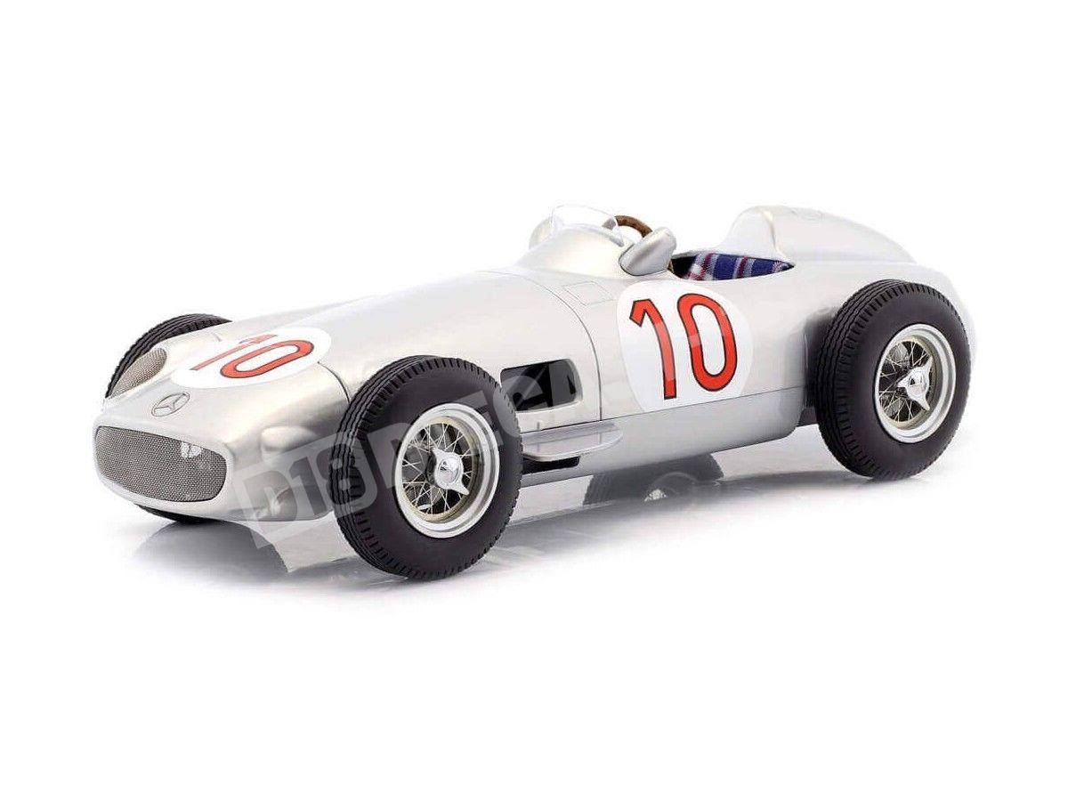 1955 Mercedes-Benz W196 Winner Belgian GP F1 Fangio 1:18 iScale 118000000010 Cochesdemetal.es