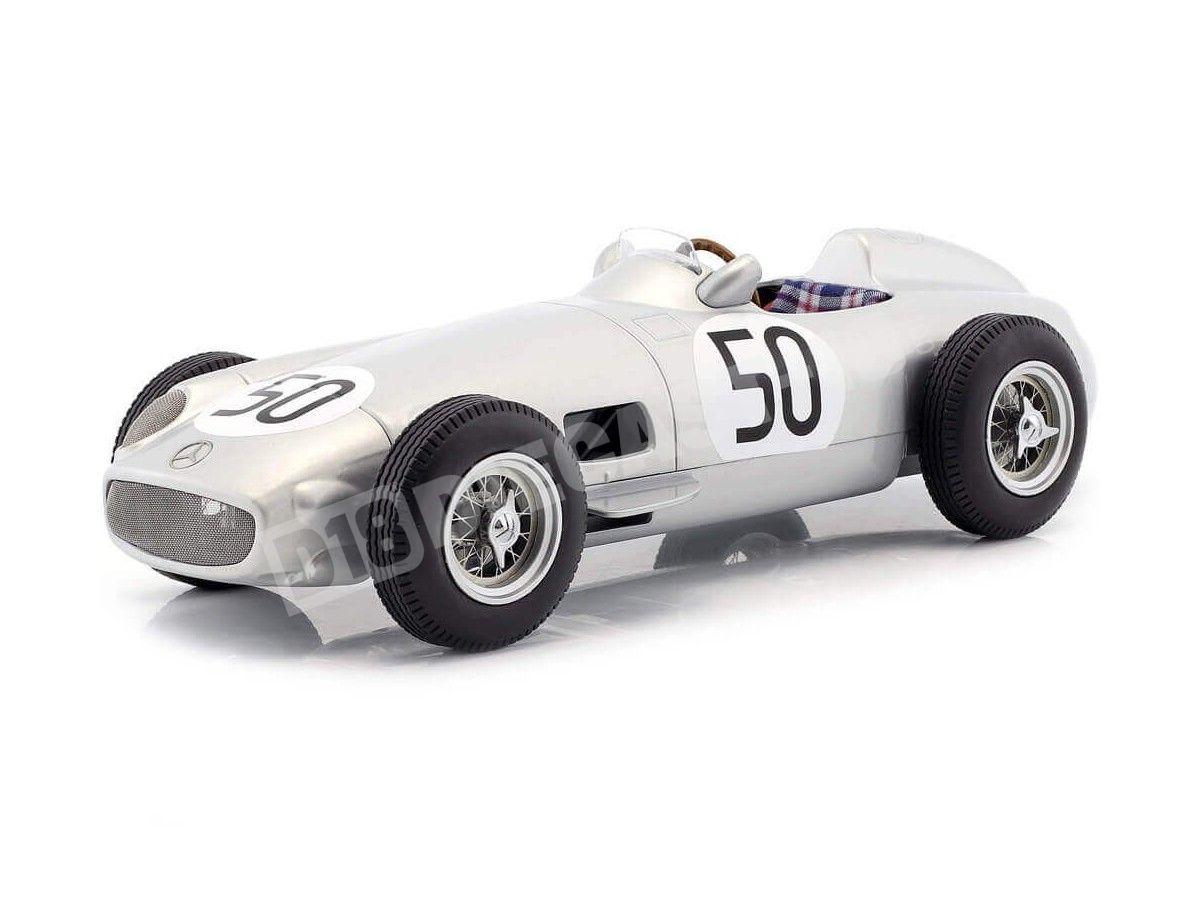 1955 Mercedes-Benz W196 British GP F1 50 Taruffi 1:18 iScale 118000000013 Cochesdemetal.es