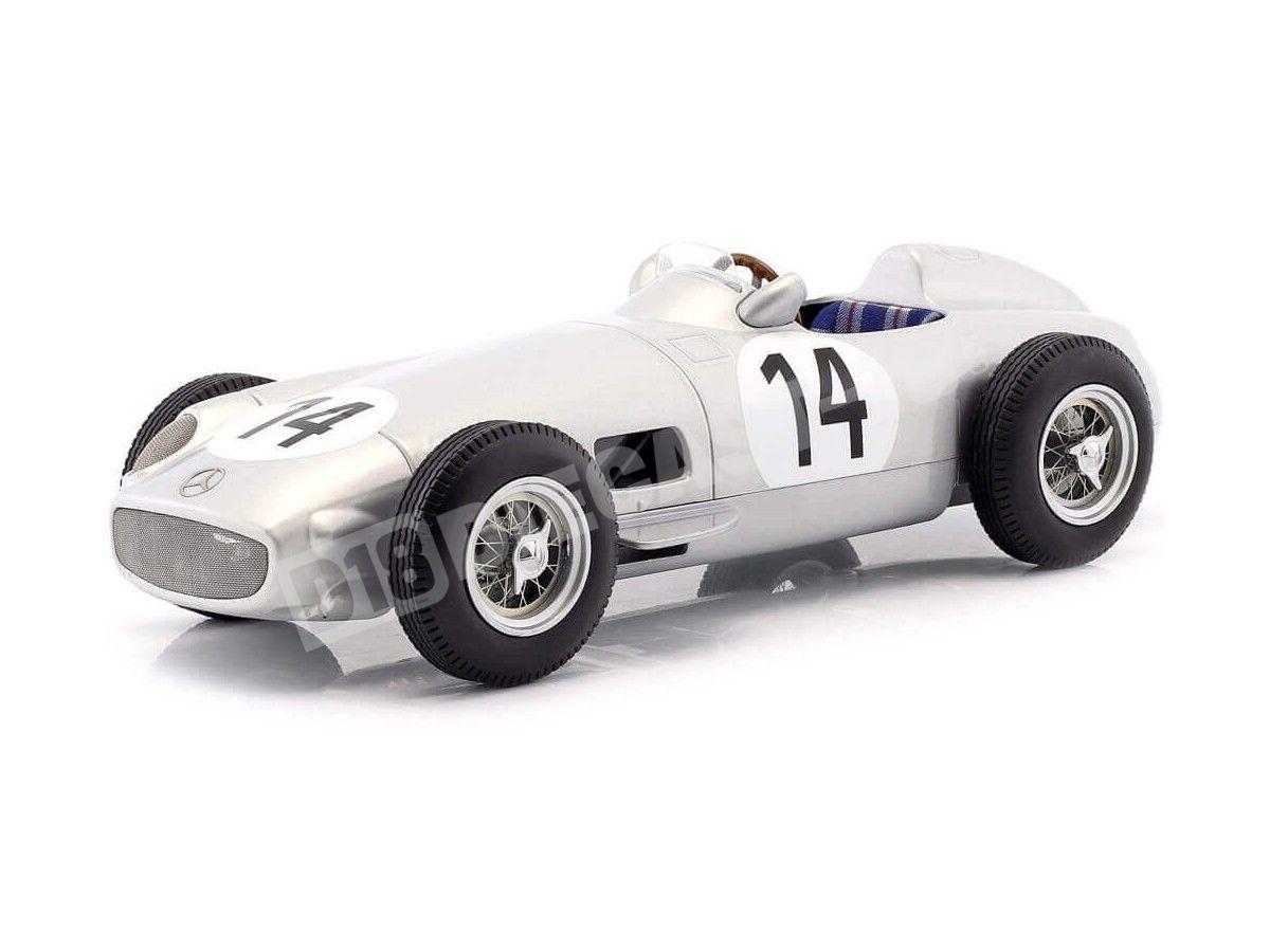 1955 Mercedes-Benz W196 British GP F1 14 Kling 1:18 iScale 118000000014 Cochesdemetal.es