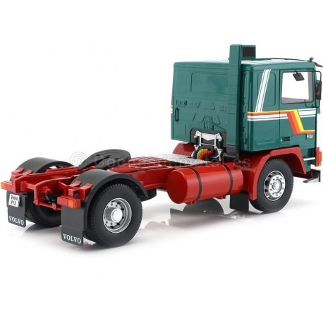 1977 Camion Volvo F1220 Dos Ejes Green-White 1:18 Road Kings 180032 Cochesdemetal.es