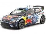 2014 Volkswagen Polo WRC Rallye Tour de Corse 1:18 IXO Models 18RMC018B