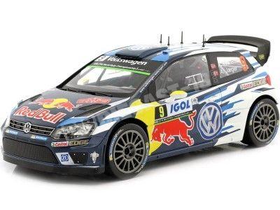 2014 Volkswagen Polo WRC Rallye Tour de Corse 1:18 IXO Models 18RMC018C Cochesdemetal.es