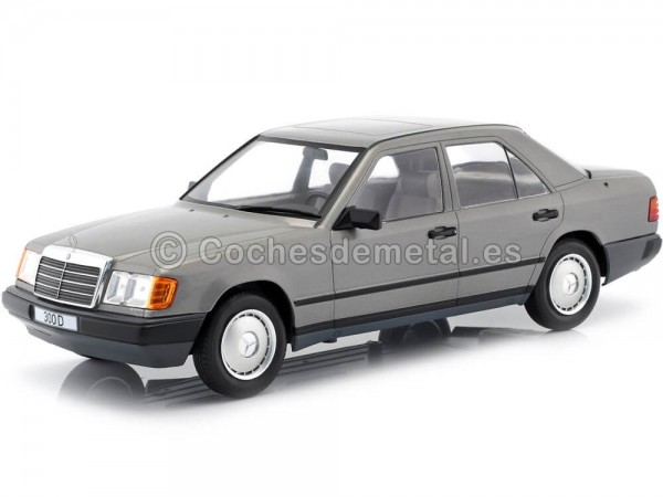 1984 Mercedes-Benz 300E Limousine W124 Antracita Gray 1:18 MC Group 18100 Cochesdemetal.es