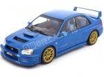 2003 Subaru Impreza WRX STi Tune S9 Specs Azul 1:18 IXO Models 18CMC004