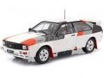 1982 Audi Quattro Rallye Grupo B Blanco 1:18 IXO Models 18CMC011