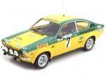 1976 Opel Kadett C GT/E Rally Hessen 7 Smolej-Geistdorfer 1:18 BoS-Models 330