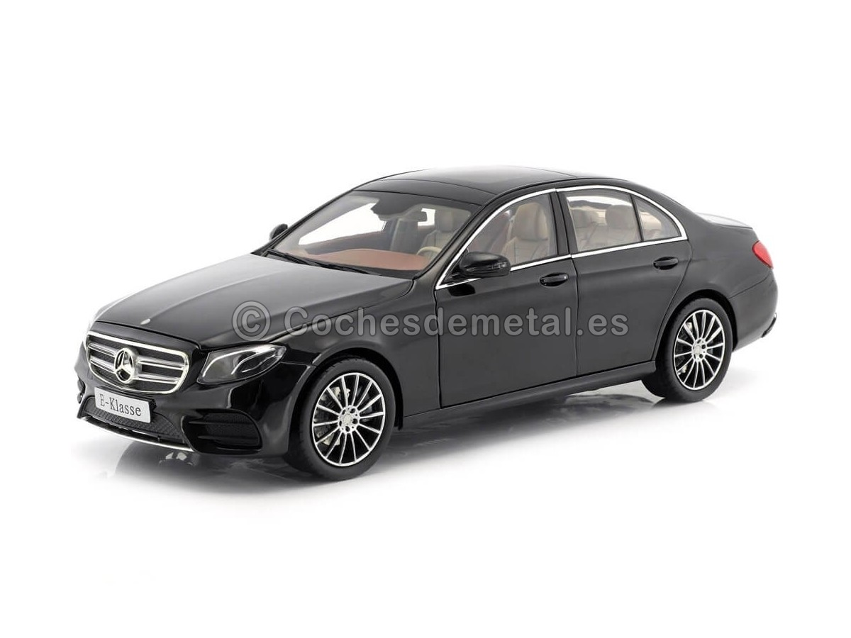 2016 Mercedes-Benz E-Klasse (W213) AMG Line Obsidian Black 1:18 Dealer Edition B66960380 Cochesdemetal.es