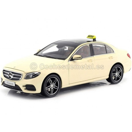 2016 Mercedes-Benz Clase E (W213) AMG Line Taxi Berlín 1:18 iScale 118000000002