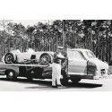 """1955 Mercedes-Benz Renntransporter """"Milagro Azul"""" 1:18 iScale 118000000006"""