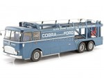 1966 Fiat Bartoletti 306/2 Racing transporter Shelby Cobra Alan Mann Racing Ltd 1:18 Norev 117700