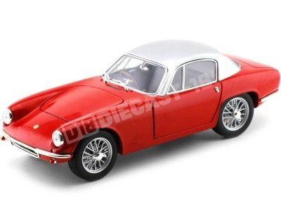 1960 Lotus Elite Rojo-Plateado 1:18 White Box 18003 Cochesdemetal.es