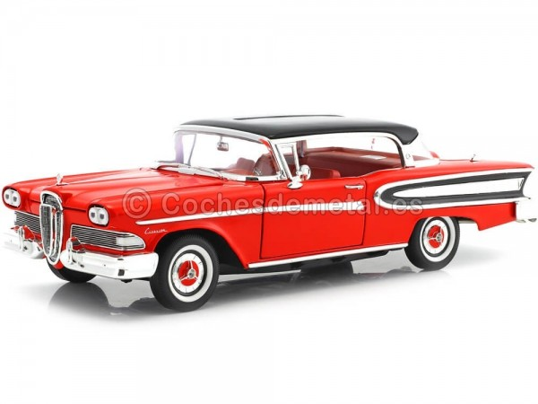 1960 Ford Edsel Citation Rojo-Negro 1:18 White Box 18006 Cochesdemetal.es