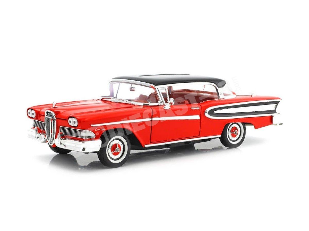 1960 Ford Edsel Citation Rojo-Negro 1:18 White Box 18006 Cochesdemetal.es