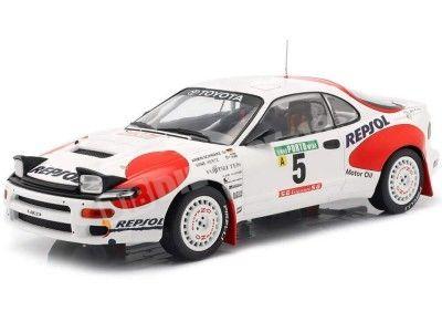 1992 Toyota Celica GT-4 (ST185) Rallye Portugal 1:18 IXO Models 18RMC023C Cochesdemetal.es