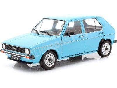 1983 Volkswagen Golf L Blue Miami 1:18 Solido S1800208 Cochesdemetal.es