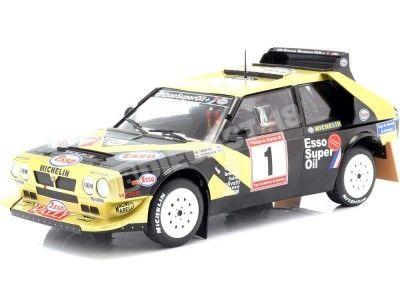 1986 Lancia Delta S4 Winner Rallye de Asturias 1:18 Solido S1800810 Cochesdemetal.es