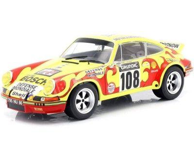 1973 Porsche 911 Carrera RSR Rallye Tour de France 1:18 Solido S1801109 Cochesdemetal.es