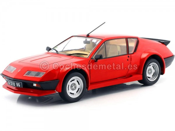 1983 Renault Alpine A310 Pack GT Rojo 1:18 Solido 1801202
