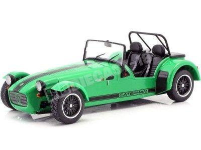 2014 Caterham Seven 275R Verde-Negro 1:18 Solido 1801801