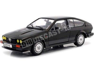 1984 Alfa Romeo GTV6 Negro 1:18 Solido 1802302