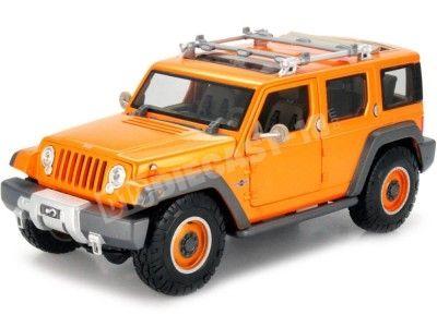 2010 Jeep Grand Cherokee Rescue Concept Naranja 1:18 Maisto 36699 Cochesdemetal.es