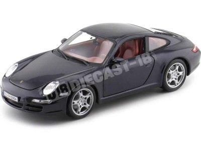 2006 Porsche 911 Carrera S Azul Oscuro 1:18 Maisto 31692