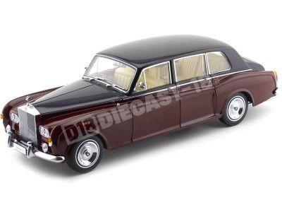 1968 Rolls-Royce Phantom VI Red-Black 1:18 Kyosho 08905RBK Cochesdemetal.es