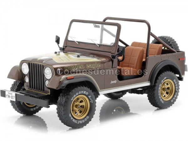 1976 Jeep CJ-7 Golden Eagle 1:18 MC Group 18109 Cochesdemetal.es