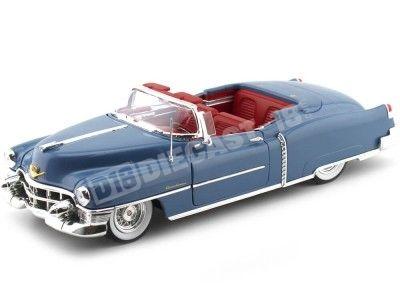 1953 Cadillac Eldorado Convertible Blue-Red 1:18 Auto World AW251 Cochesdemetal.es