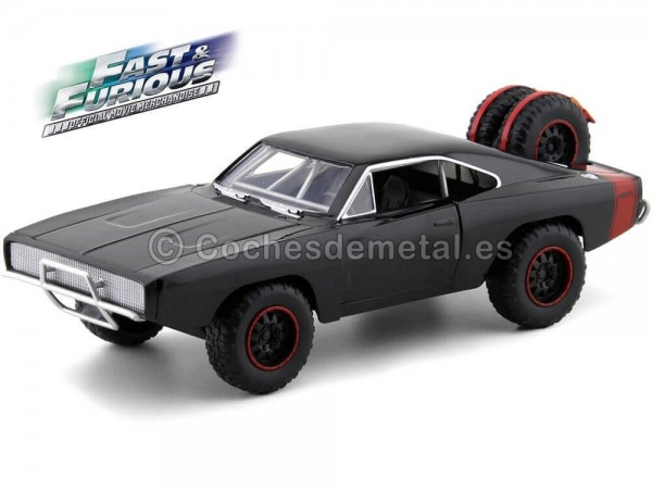 "1970 Dodge Charger Off Road ""Fast & Furious 7"" 1:24 Jada Toys 97038"
