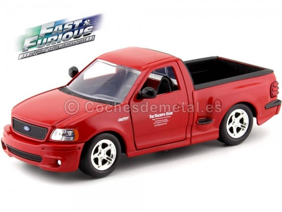 "2002 Ford F-150 SVT Lightning ""Fast & Furious"" 1:24 Jada Toys 99574 Cochesdemetal.es"