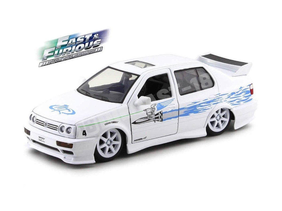 "1995 Volkswagen Jetta A3 ""Fast & Furious"" 1:24 Jada Toys 99591 Cochesdemetal.es"