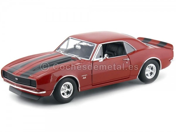 1967 Chevrolet Camaro 427 Red-Black 1:18 ACME GMP A1805711