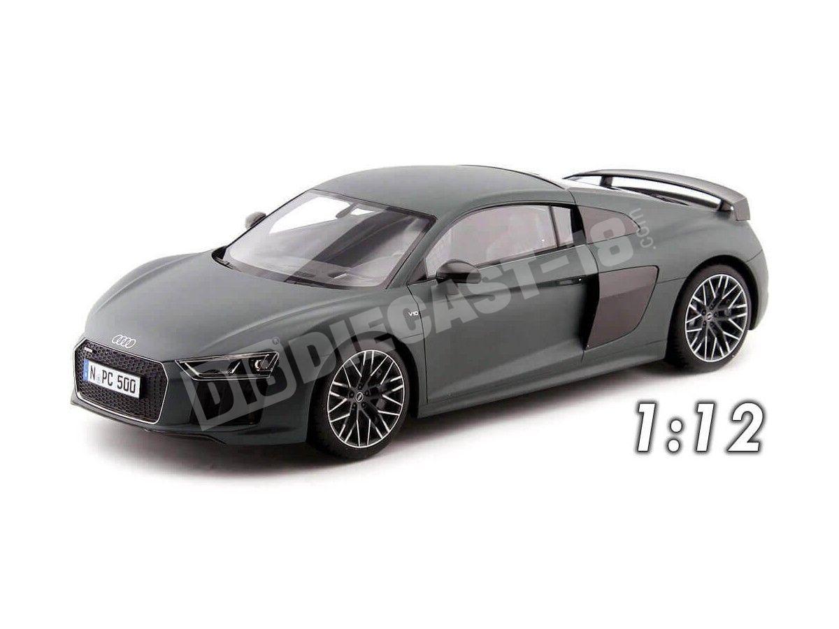 2015 Audi R8 V10 FSI Coupe Verde Camuflaje 1:12 Premium ClassiXXs PCL40041 Cochesdemetal.es