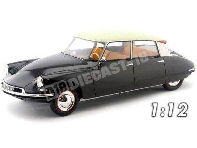 1957 Citroen DS19 Negro-Beige 1:12 Premium ClassiXXs PCL40046 Cochesdemetal.es