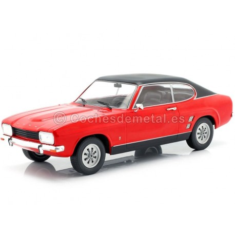 1973 Ford Capri MK1 Rojo 1:18 MC Group 18083