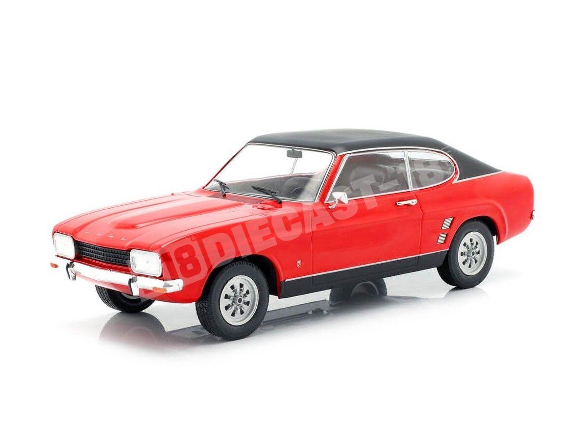 1973 Ford Capri MK1 Rojo 1:18 MC Group 18083 Cochesdemetal.es