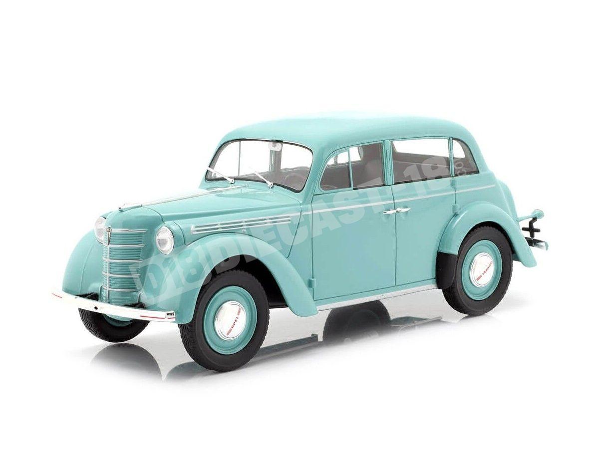 1938 Opel Kadett K38 Azul 1:18 KK-Scale 180252 Cochesdemetal.es