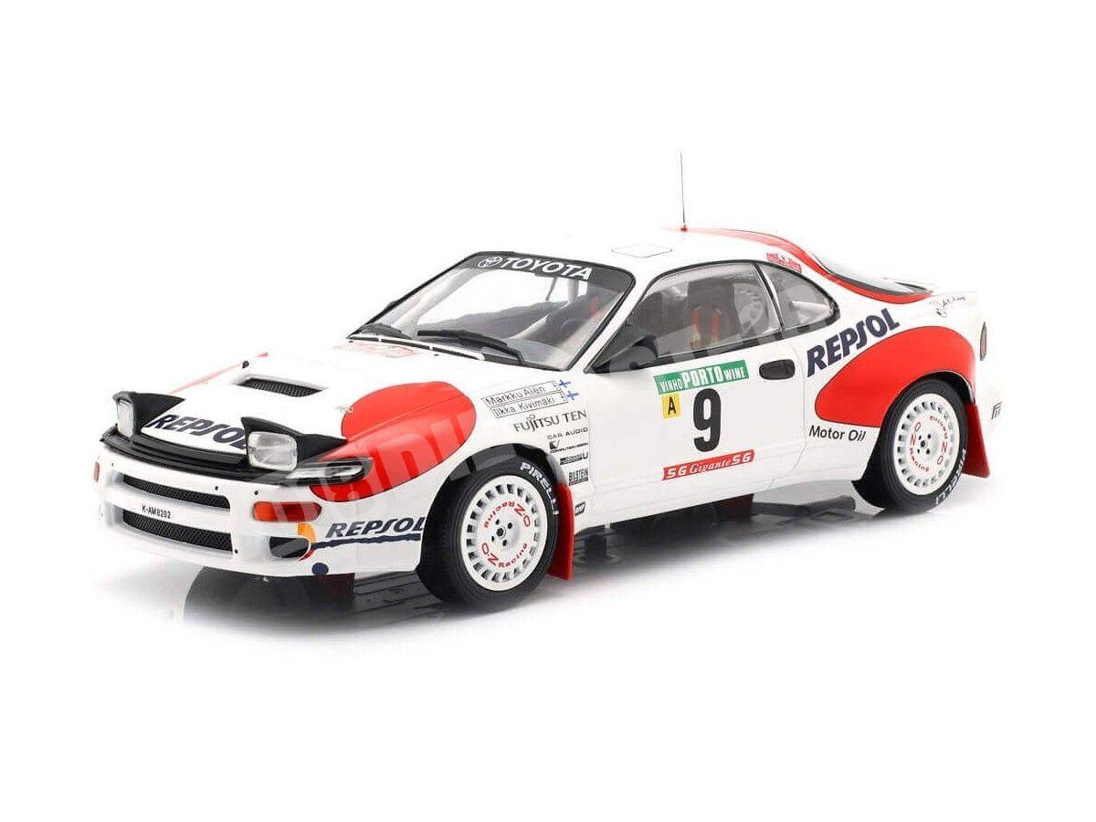 1992 Toyota Celica GT-4 (ST185) Rallye Portugal 1:18 IXO Models 18RMC023B Cochesdemetal.es