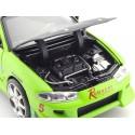 "1995 Mitsubishi Eclipse Brian ""Fast & Furious"" Verde 1:24 Jada Toys 97603"