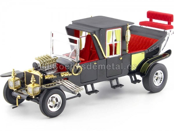 "1964 The Munsters Koach ""La Familia Monsters"" 1:18 Auto World AW233 Cochesdemetal.es"