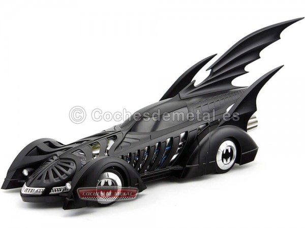 "1995 Batmobile ""Batman Forever"" Negro Mate 1:18 Hot Wheels Elite BCJ98 Cochesdemetal.es"