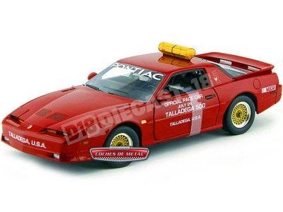 1987 Pontiac Trans AM GTA Pace Car Talladega 500 Rojo 1:18 Greenlight 12859 Cochesdemetal.es