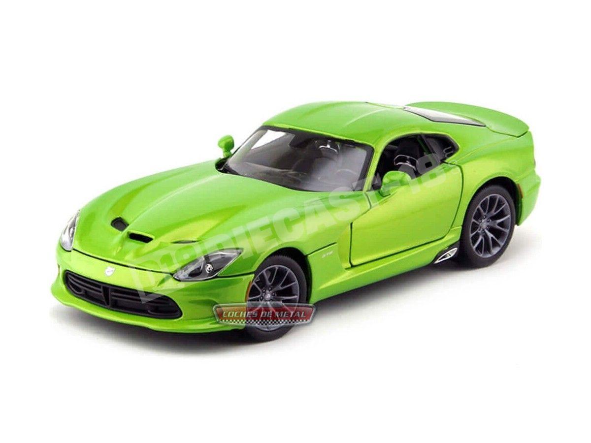 2013 Dodge Viper SRT GTS Verde Metalizado 1:18 Maisto 31128