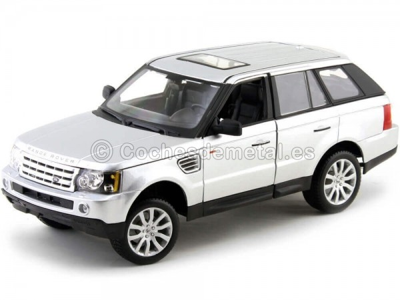 2006 Land Rover Range Rover Sport Supercharged Gris 1:18 Maisto 31135 Cochesdemetal.es