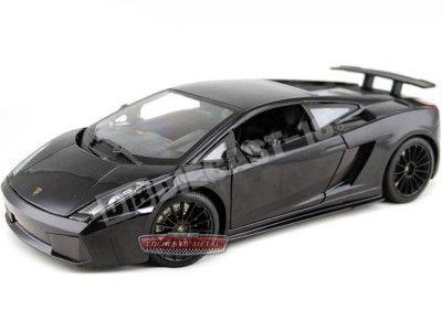 2007 Lamborghini Gallardo Superleggera Negro 1:18 Maisto 31149 Cochesdemetal.es