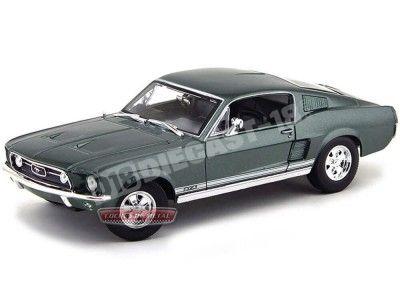 1967 Ford Mustang GTA Fastback Verde Metalizado 1:18 Maisto 31166 Cochesdemetal.es