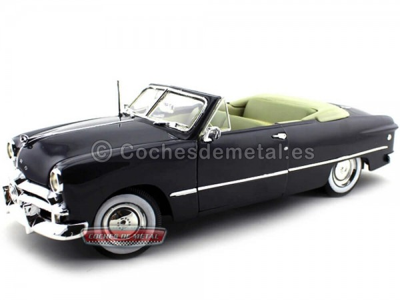 1949 Ford Convertible Gris 1:18 Maisto 31682 Cochesdemetal.es