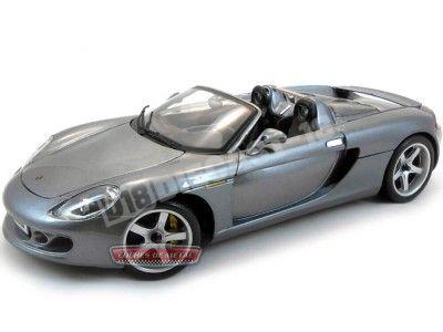 2003 Porsche Carrera GT Gris 1:18 Maisto 36622 Cochesdemetal.es